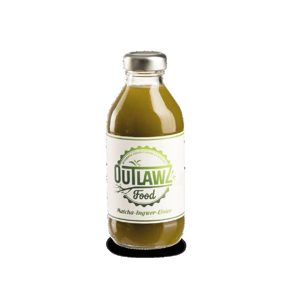 Outlawz Matcha-Ingwer-Eistee